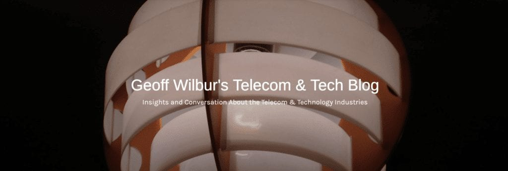 Geoff Wilbur's Telecom and Tech Blog