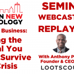 Scaling Up Business: Finding the Capital You Need to Survive the Crisis #SUB7